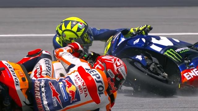 Sous la menace de Marquez, Rossi a tout perdu