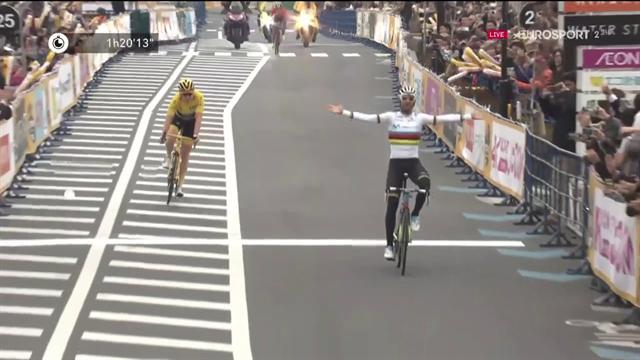 Valverde batte in volata Thomas e vince il Criterium di Saitama
