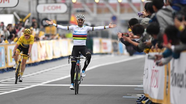 Alejandro Valverde vence en el Criterium de Saitama