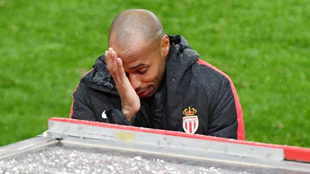 'Thierry Henry is pulling a Gary Neville' - Fans react to savage Monaco defeat
