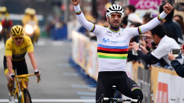 Valverde schlägt Thomas in Saitama