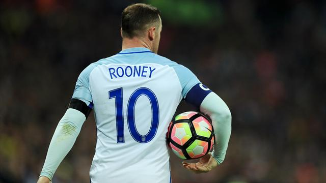 """Rooney : """"Beckham, Gerrard, Lampard... Avec Guardiola, l'Angleterre aurait tout gagné"""""""