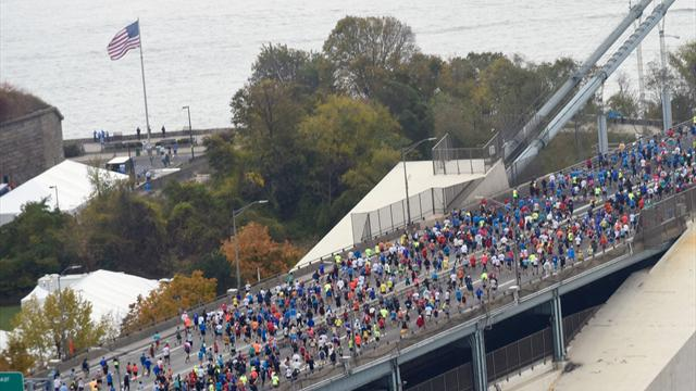 Ab geht's! Startschuss zum New-York-City-Marathon