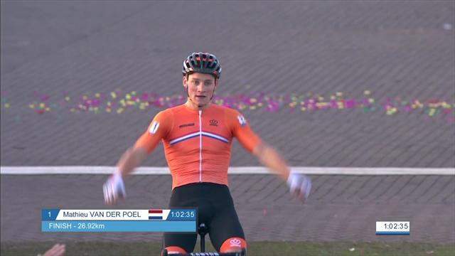 Van der Poel wins second European Championship title in a row