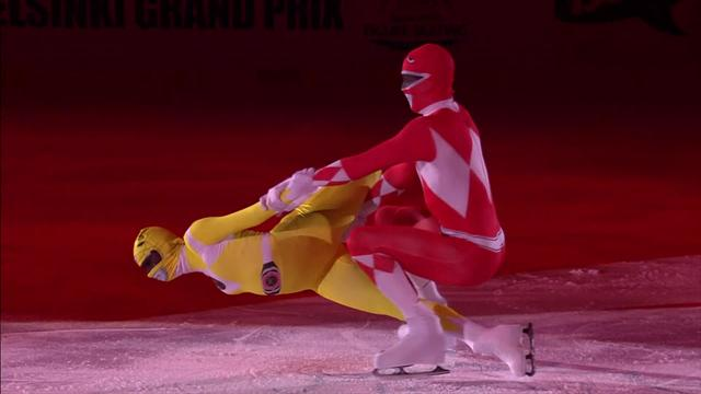 Power Rangers maken carrièreswitch als kunstrijders
