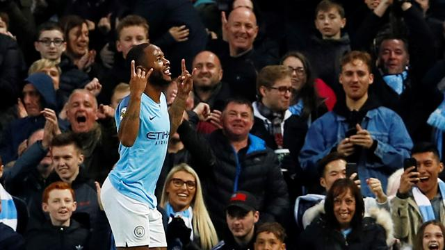 'Sterling the best player in Premier League' - Fans react to City star's brace