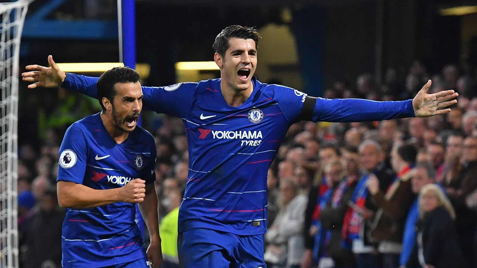 Football News Alvaro Morata At The Double As Chelsea See Off