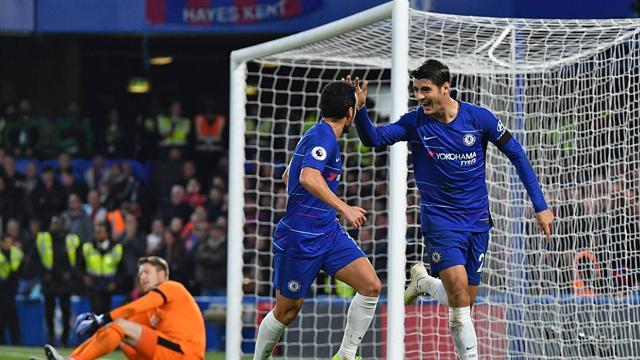 Grâce à Morata, Chelsea suit le rythme