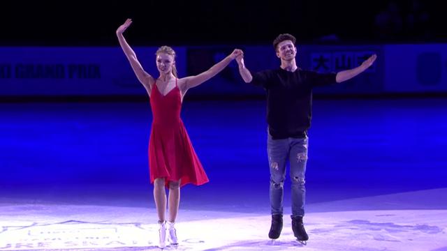 Der Triumph von Stepanova und Bukin im Eistanz