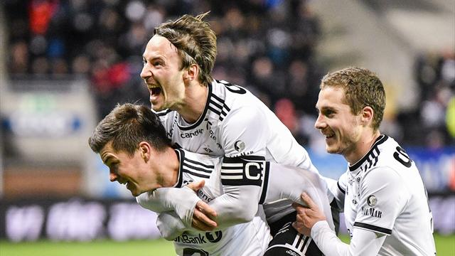 Helland-dobbel senket Odd – Rosenborg på god vei mot seriegullet
