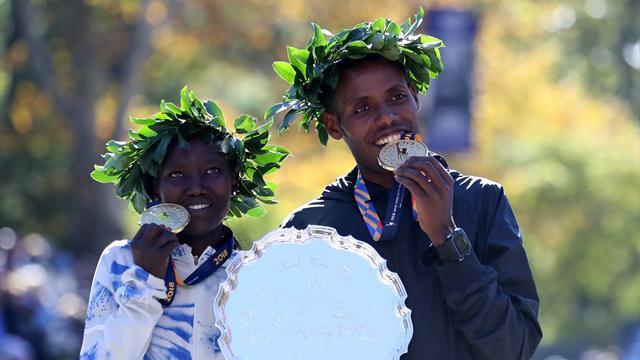 Keitany promises NYC marathon 'not easy' after heat of Doha