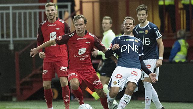 Brann utsatte Rosenborgs gullfest