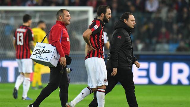 Milan, cauto ottimismo per Higuain: contro la Juventus dovrebbe esserci
