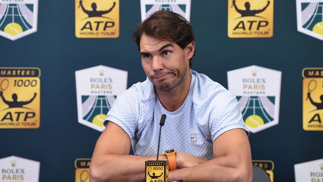 Injured Nadal withdraws from World Tour Finals in London