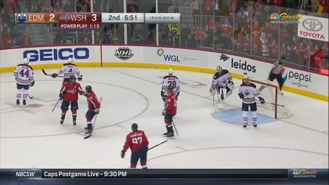 Александр Овечкин забросил «Эдмонтону» и вышел на восьмое место в НХЛ по голам в большинстве