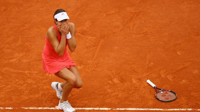 Ana Ivanovic och Franska Öppna-titeln