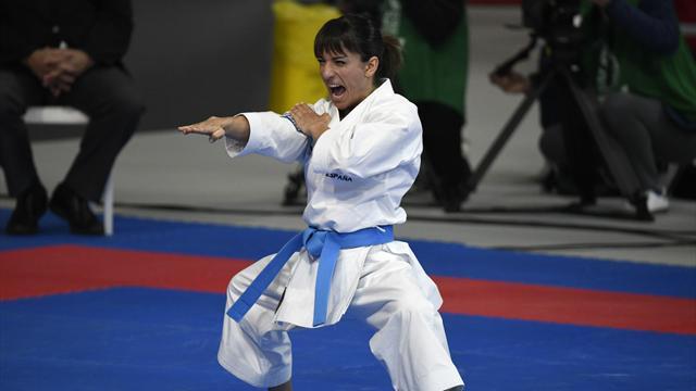 🥋🥇 Sandra Sánchez se consagra en Madrid como campeona del mundo de kata en el mundial de kárate