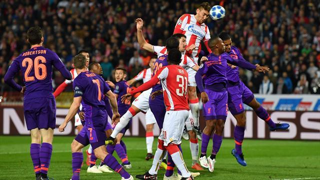 Sorpresa al Marakana! La Stella Rossa batte il Liverpool 2-0 e rimescola le carte nel gruppo C