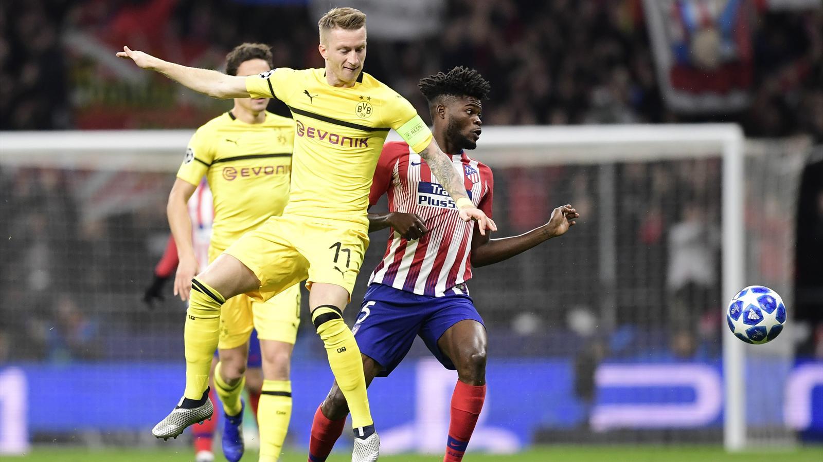 Video Borussia Dortmund Patzt Bei Atlético Wieder Auf Dem Boden