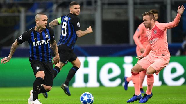 Le pagelle di Inter-Barcellona 1-1: Nainggolan spento, bene Politano, Coutinho brilla