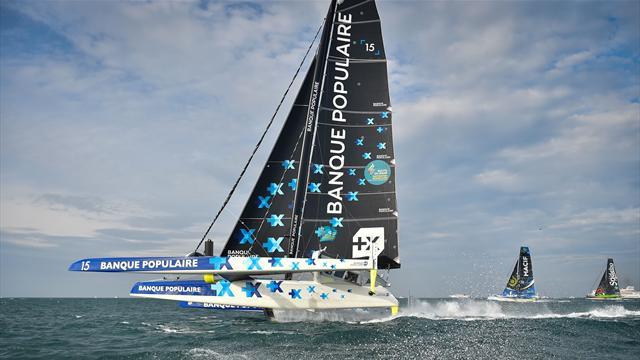 """Le Cléac'h à la barre d'un nouveau bateau """"volant"""" fin 2020"""
