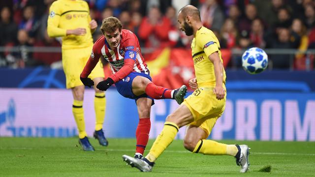 L'Atlético et Griezmann font tomber Dortmund