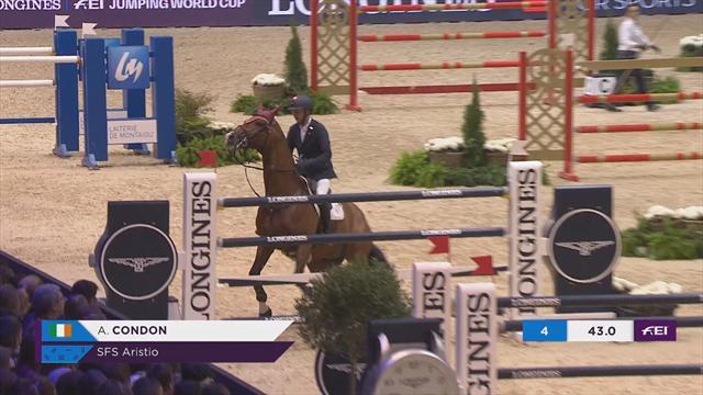 Springreiten: Condons Pferd will nicht mehr
