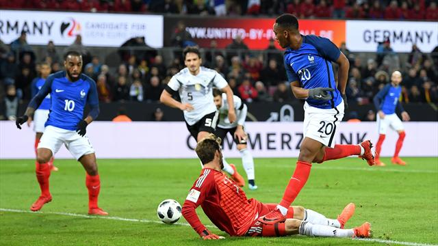 Anthony Martial rappelé par Didier Deschamps — Équipe de France