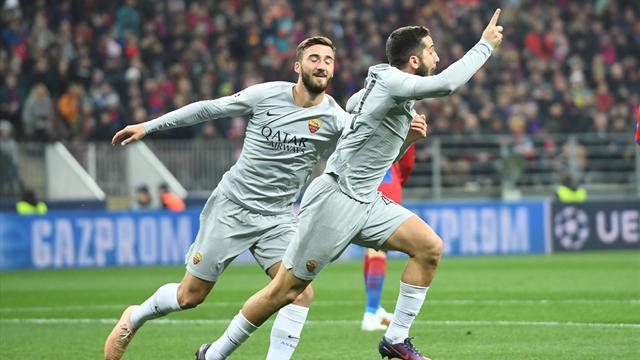 La Roma stringe i denti e ipoteca gli ottavi: 2-1 al CSKA, apre Manolas, decide Pellegrini