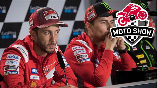 """Lorenzo """"privé"""" d'un million d'euros, clash avec Dovizioso : pour Ducati, vivement la fin de saison"""