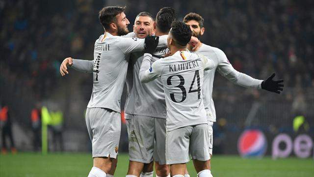Le pagelle di CSKA Mosca-Roma 1-2: Pellegrini e Kluivert i migliori del Luzhniki