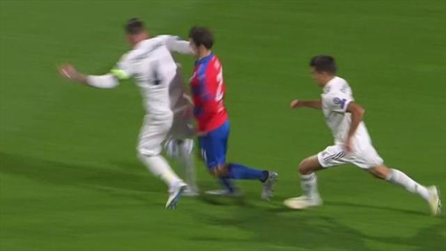 Plzen-Real Madrid / Ramos :