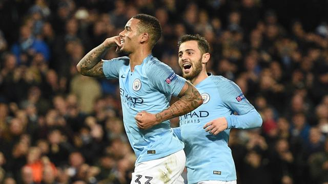 City move one step closer to qualification as Jesus nets hat-trick
