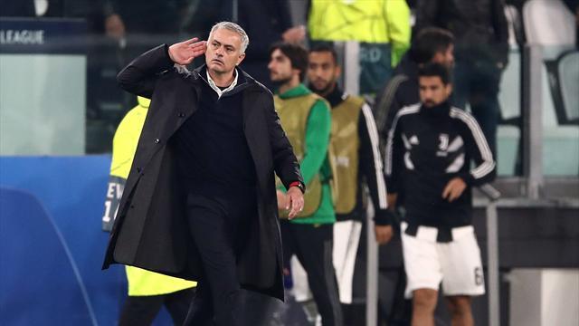 2-1 allo Stadium: Mourinho provoca i tifosi della Juventus e viene scortato fuori dal campo