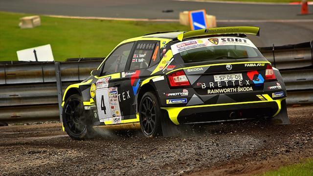 ERC Junior Yates impresses on rare co-driving run