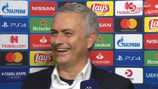 Mourinho trolls FA in hilarious post-match interview