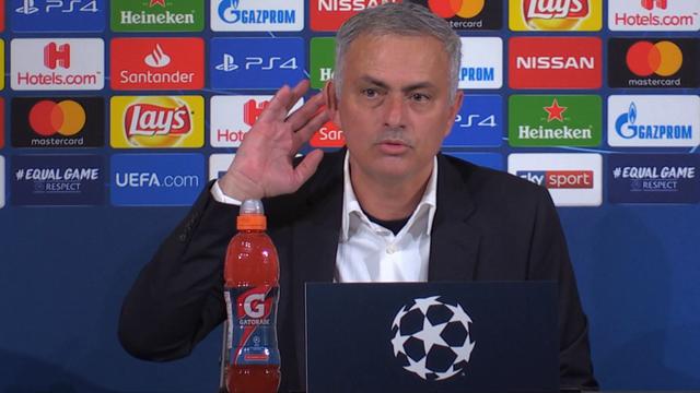 """Mourinho: """"Il gesto a fine gara? Non era un'offesa, offese sono quelle che ho ricevuto per 94'"""""""