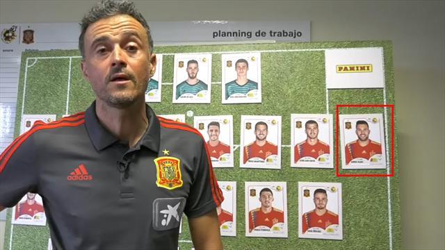 Jordi Alba vuelve a la lista de Luis Enrique con varias novedades