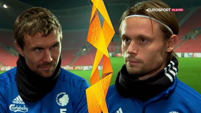 Bjelland og Ankersen før vital Europa League-kamp: Vi skal ud at vinde