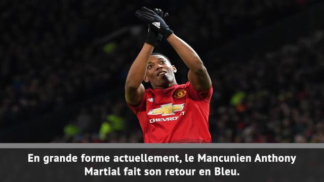 Bleus - Martial, le grand retour