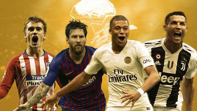 Mbappé, Messi, Ronaldo… les joueurs les plus décisifs en 2018