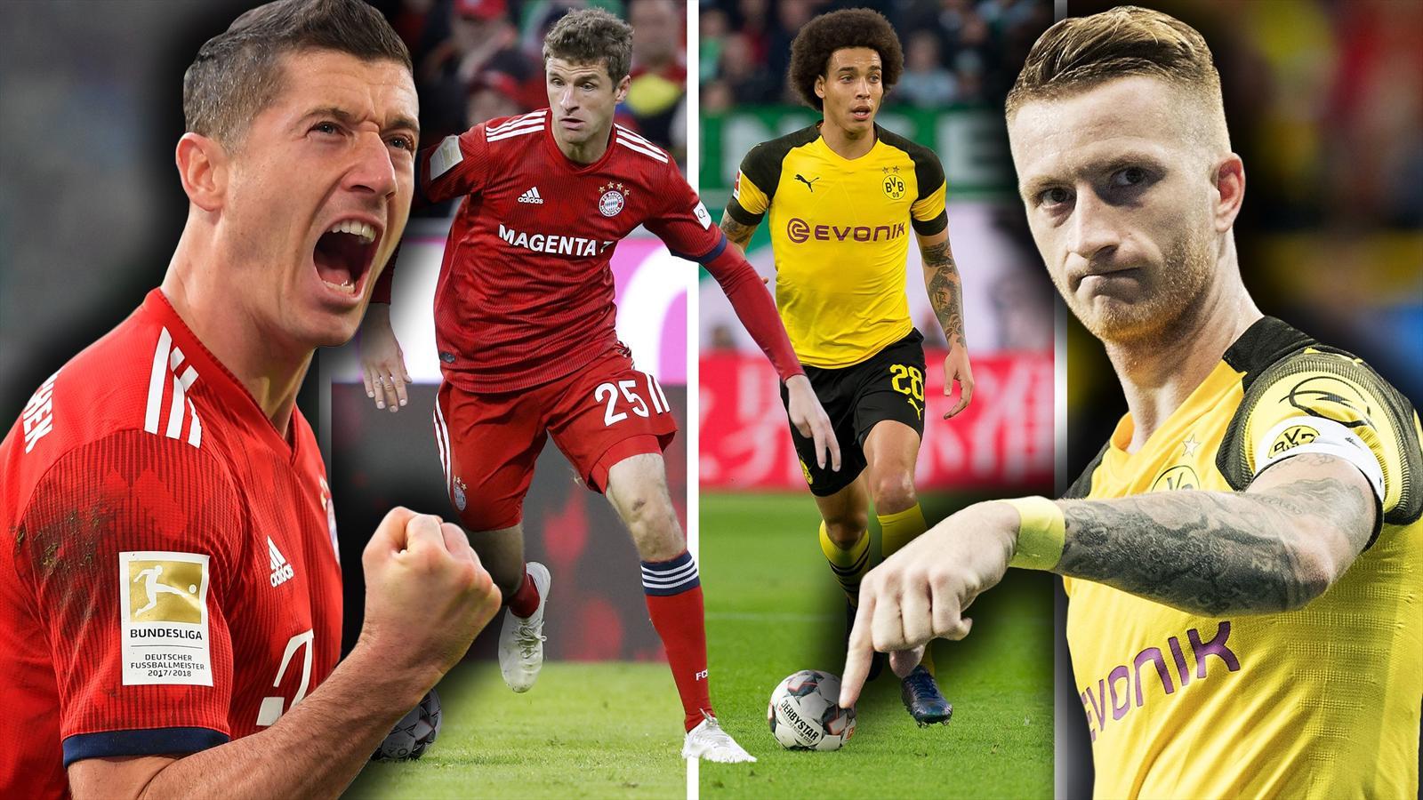 Video Borussia Dortmund Fc Bayern Munchen Auf Diese Spieler