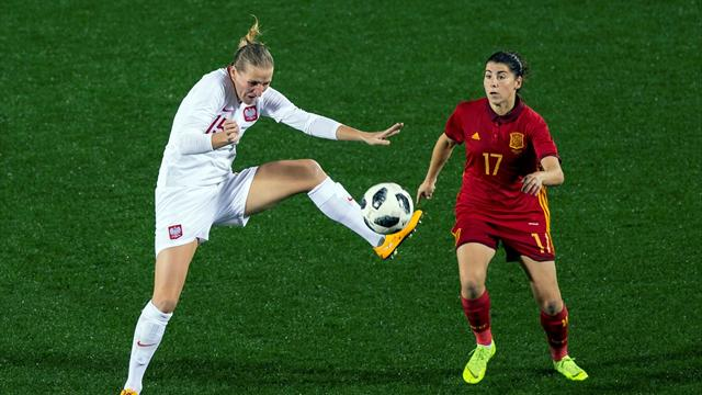 🚨 Streaming: Sigue aquí la segunda mitad de la Selección femenina vs Polonia en Butarque