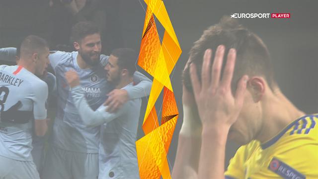 Highlights: Giroud sikrede Chelsea snæver sejr