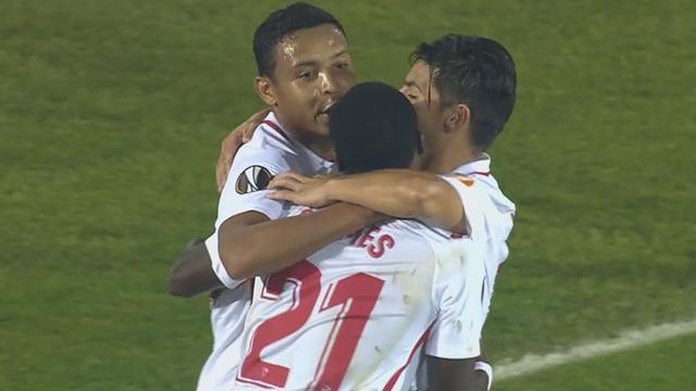 Höjdpunkter: Banega avgjorde sent för Sevilla