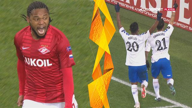 Highlights: Gerrard og Rangers tabte i underholdende målorgie til Spartak Moskva