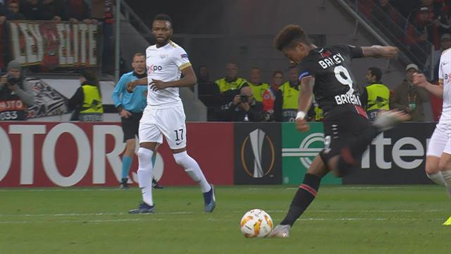 Höjdpunkter: Leverkusen vann toppmötet