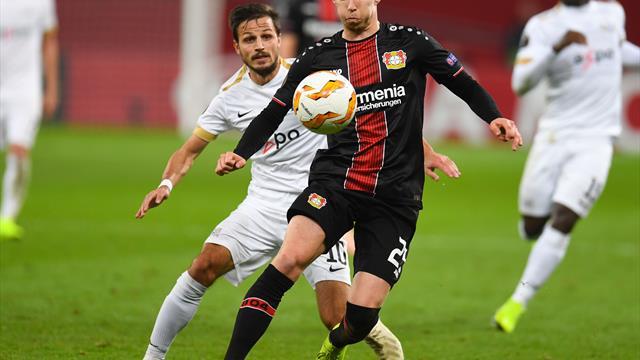 Etappenziel erreicht: Jedvaj köpft Leverkusen in die K.o.-Runde