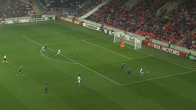 Höjdpunkter: Mållöst för Köpenhamn mot Slavia Prag