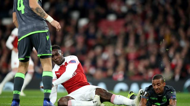 Danny Welbeck injury takes shine off Arsenal's Europa League progress